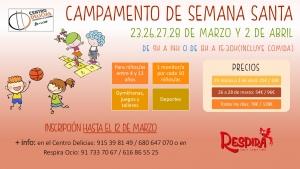 Capamento de semana santa @ Centro Deportivo y Cultural Delicias